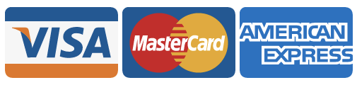 We also accept all major credit cards, visa, mastercard, american express and maestro.