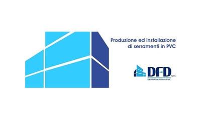 logo dfd s.r.l. serramenti