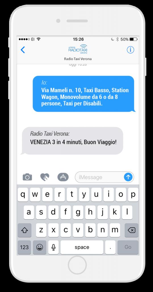 Sms Taxi - Radio Taxi Verona